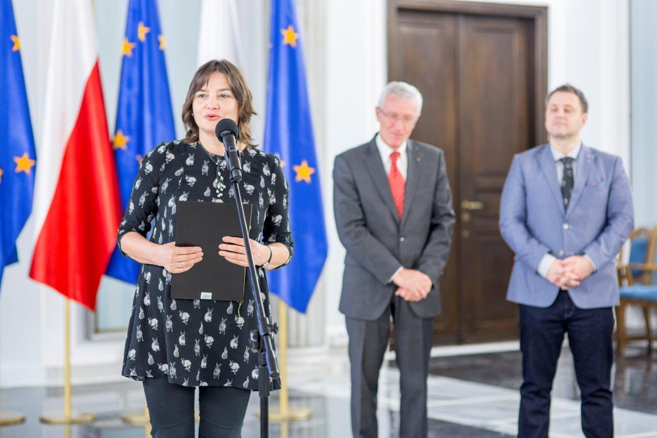 Profesor Janina Filek Pelnomocnik Rektora UEK ds. Studentow z Niepelnosprawnoscia - Fot. Magda Pawluczuk